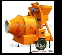 44 years manufacture JZM350 self loading mini portable electric concrete mixer