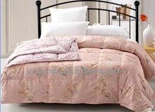 pink quilt/fashion pink comforter/spring and autumn duvet