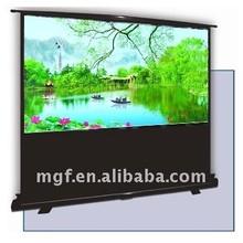 VEGA-Series, Floor Standing Projector Screen/TPS049087MWB Two Points Type Scissor Floor Projector Screen/Projector Screen