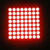 Promotion 60*60mm 8x8 p7.62 red dot matrix led display