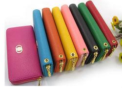 Colorful women wallets,zip around wallets womens wallets