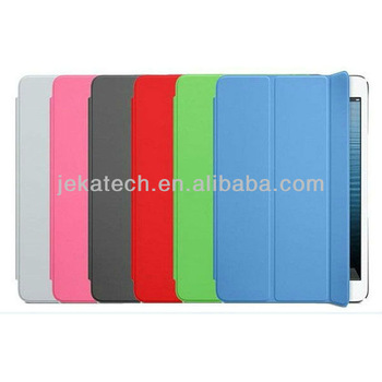Smart cover for ipad mini leather case