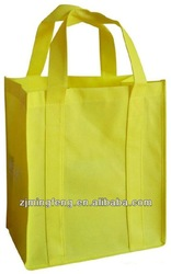 high quality eco-friendly non woven 6 bottle wine tote bag