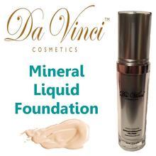 Sunscreen Mineral Liquid -SPF15- with Aloe Vera Extract - Da Vinci Cosmetics USA
