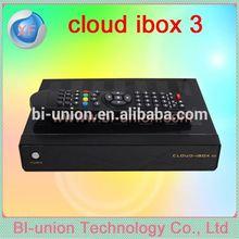 Nube i caja del internet tv de módem