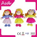 13 polegadas tela de pano de tecido boneca 2014 presente da promoção brinquedos de pelúcia amostra grátis