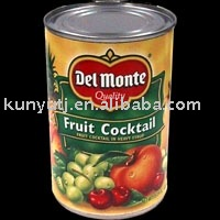 canned fruit cocktail(canned fruit)