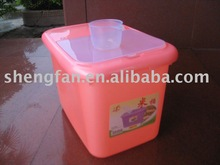 plastic rice barrel 3030 with rice cup