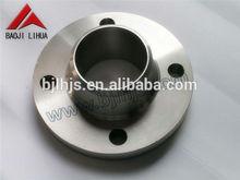 ASME B16.5 grooved titanium flange for GR1 GR2 GR3 GR5 GR7 GR9