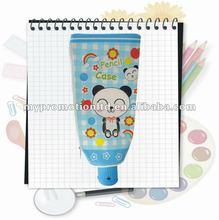 Fashion toothpaste pencil bag,pencil pouch,pencil case