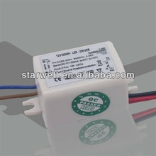 constant current led driver power supply 3W 5V with UL,FCC,CE,GS certification