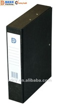 High quality with low price A4/FC Paper Cover Rigid Box File