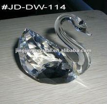Crystal Swan Glass Wedding Swan