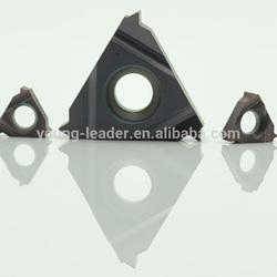 Cemented indexable tungsten carbide insert
