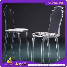 Cheap High Polished Modern Transparent Acrylic Chair For Wedding