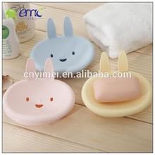 Rabbit sharp plastic soap container