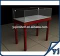 alta qualidade de vidro do armário de madeira para exibir jóias
