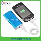 2012 Newest!!! 2000mAh micro usb portable battery charge for hand phones mobile phone smartphone
