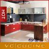 Hot selling Perfect PVC unfinished rta kitchen cabinets