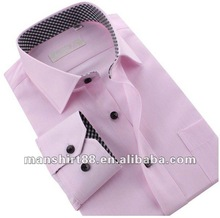 Fancy graceful style 100% Cotton men business shirt with peaked collar and S,M,L,XL,XXL