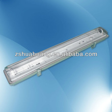 T8 Waterproof Fluorescent light fixture with CE&ROHS