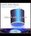 120w levou aquário iluminação rodada specilized impermeável 3d fundo do aquário para o tanque do aquário