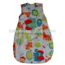 cotton printing wholesale baby sleeping bag,baby sleeping bag pattern