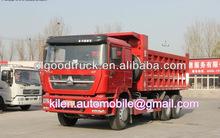 OEM SINOTRUK howo dump truck 6x4