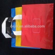 plastic shopping bag/LDPE handle bag