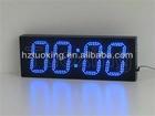 6 inch 4 digit led digital wall clock