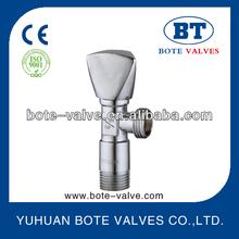 BT3003 brass angle valve with zinc handle