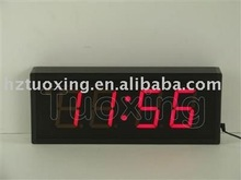 3 inch 4 digit led wall digital clock
