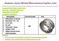 Chinese truck rim supplier
