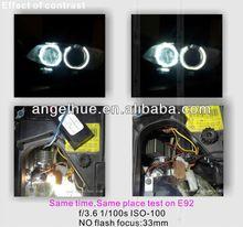 E4 &R87 High quality Auto LED daytime running light ,led side marker,DRL angel eyes for bmw e60