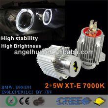 CREE Q5 Chip 2*5W high power led marker, Led Angel Eyes for E92,E39,E60 e92 e93 m3 carbon fiber