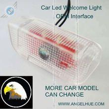 brand car logo/emblem car badge 12V auto led courtesy light