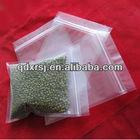 Plastic printed ziplock bags for food