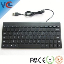 China new products! VMQ-05 wholesale usb wired laptop keyboard from shenzhen ISO approval factory