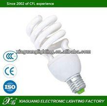 E27 High Power Factory Wholesales Price g9 cfl half energy saving lamp holder