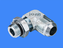 Carbon Steel 90 DEGREE ELBOW JIC 74 MALE degree Cone/SAE O-RING BOSS L-SERIES ISO 11926-3