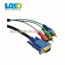 Wholesale high quality hacer un cable vga a rca