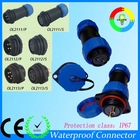 Aviation maritime circular waterproof connector