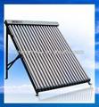 18 tubos solar keymark aprovado tubo de vácuo solar painéis de resistência ao granizo
