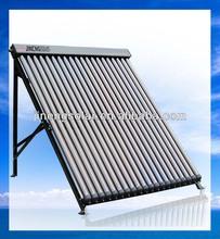 18 Tubes Solar Keymark Approved Vacuum Tube Solar Panels Hail Resistance
