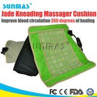 Sunmas HOT jade heat therapy products germanium stone massage mattress