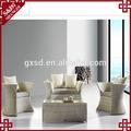 S & D 2014 recém trendy designs móveis de vime sofá compras on line