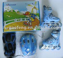 BW-901-2 children adjustable inline skate set