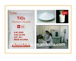 Titanium Dioxide Rutile 218(ISO9001:2000)