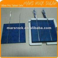4W Polycrystalline Solar Cell with tabbing wire for DIY Solar Panel