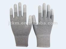 13G Carbon Pu top fit glove